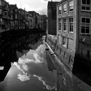 Dordrecht Voorstraathaven 1968 von Dordrecht van Vroeger