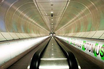 Metrostation Wilhelminaplein van Danique Verweij