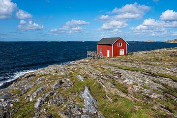 Blick auf die Insel Åstol in Schweden von Rico Ködder
