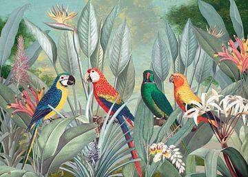 Birds in Paradise van Marja van den Hurk