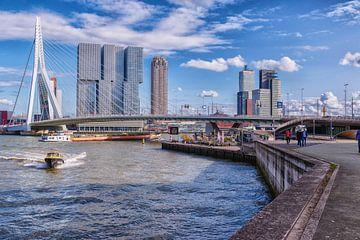 Waterverkeer Rotterdam van Kevin Nugter