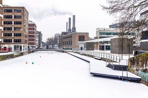 Winter bij de Delftsevaart van