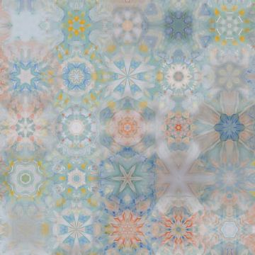Sneeuwvlokken X van Maurice Dawson