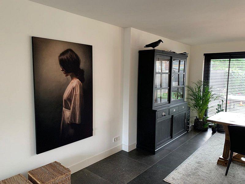 Kundenfoto: Alone von Marja van den Hurk, auf akustische wandbilder