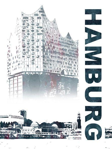 Hamburg van Printed Artings