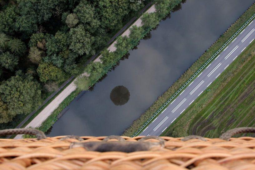 Luchtballon van Jeroen Koppes