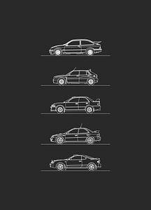 Gruppe A Rallye von Artlines Design