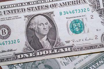 Dollar Banknoten von Heiko Kueverling