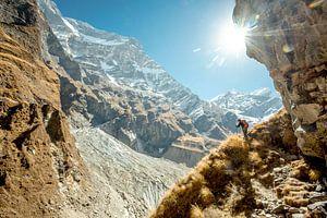 Trekking dhaulagiri nepal himalaya van