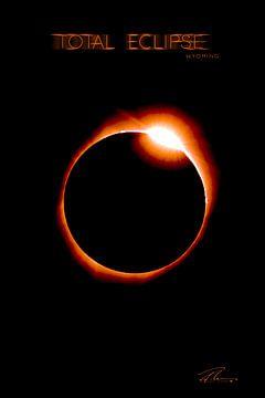 Total Eclipse Wyoming - Red Ring van