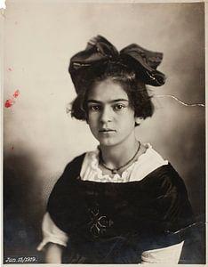 Frida Kahlo, June 15, 1919