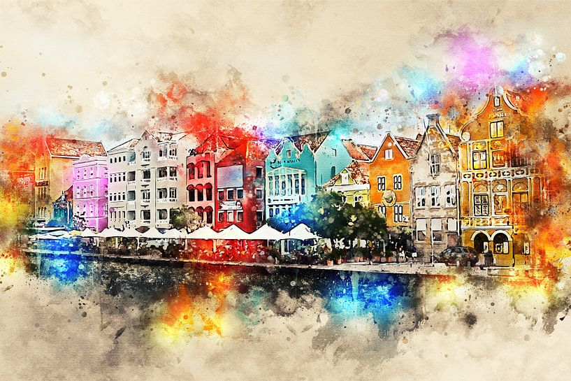 Willemstad von Sharon Harthoorn