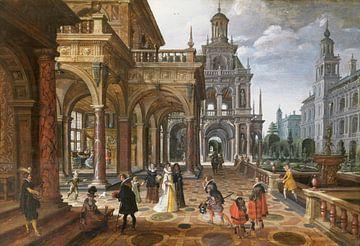 Palais, Sebastiaen Vrancx, Paul Vredeman de Vries sur