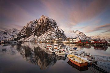 Haven op de Lofoten von Antwan Janssen