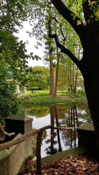 Een foto bij kasteel de Vanenburg van Wilbert Van Veldhuizen
