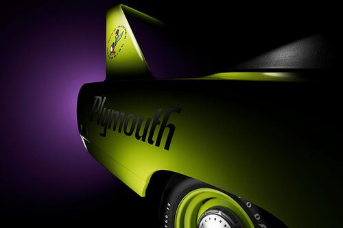 Plymouth Road Runner Superbird van