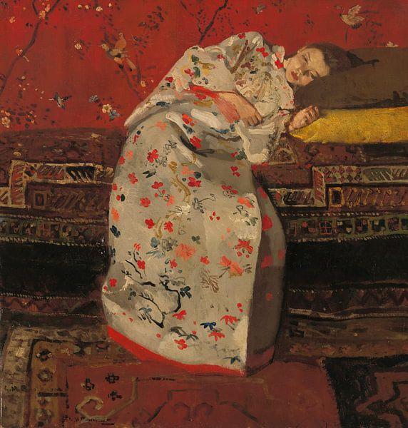 George Hendrik Breitner. De witte kimono van 1000 Schilderijen
