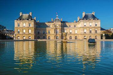 Palais du Luxembourg in Parijs van Christian Müringer