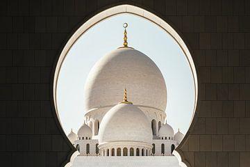 Kuppel der Scheich-Zayed-Moschee von Tijmen Hobbel