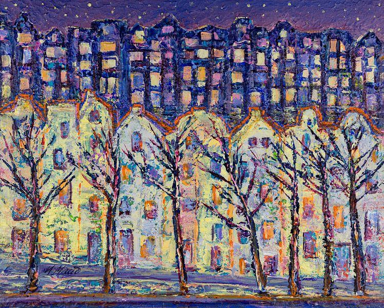 Night city van Irina Maiboroda