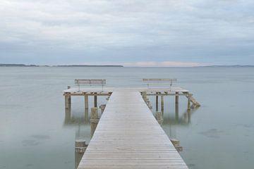 Een Steiger In Zee van Melvin Fotografie