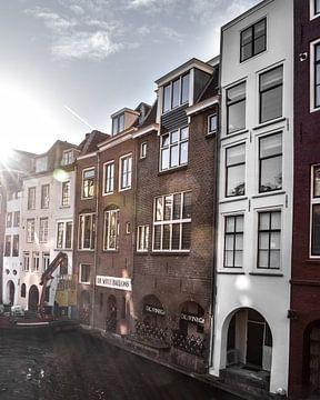 Zonnige winterdag in Utrecht von Kim de Been