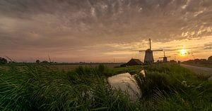 Windmolens in de  Beemster polder