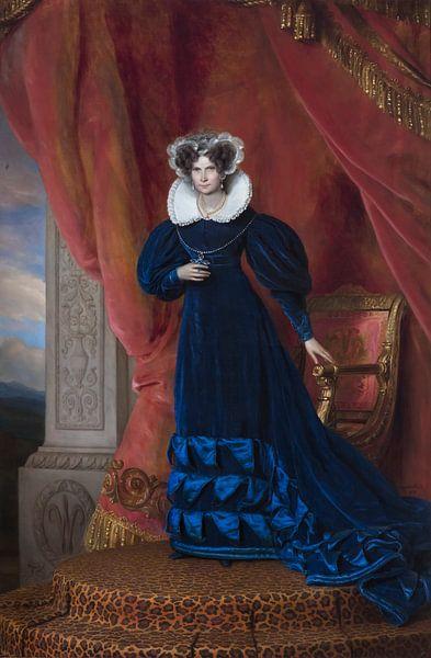 Wilhelmina van Pruisen koningin der Nederlanden von Diverse Meesters