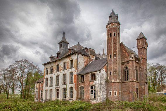 Verlaten kasteel in België