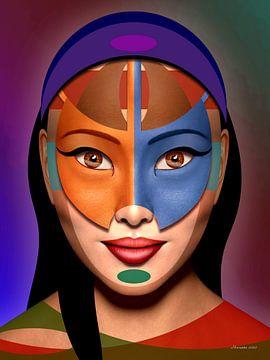 De Kleuren Van De Wereld van Ton van Hummel (Alias HUVANTO)