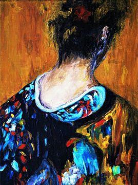 Geishas und Kimonos 2 von Ineke de Rijk