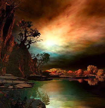 Sonnenuntergangsfarben 6 von Angel Estevez