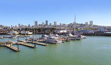 Zonnig havengezicht in San Francisco van Achim Prill