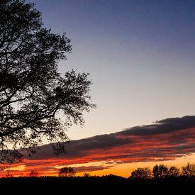 Zonsondergang van Alied Kreijkes-van De Belt