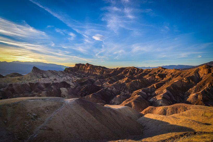 Death Valley mountains van Ton Kool