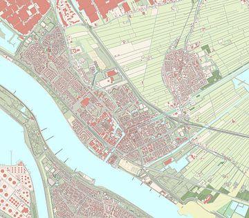 Kaart vanMaassluis