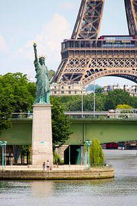 Van New-York naar Parijs van