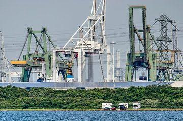 Europoort en het Oostvoornse Meer