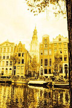 Zuiderkerk Gouden Amsterdam van Hendrik-Jan Kornelis