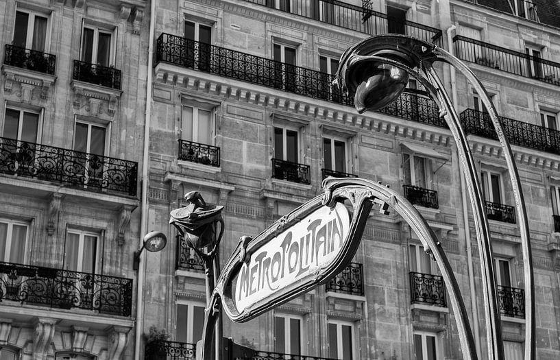 MetroPolitain Parijs van JPWFoto