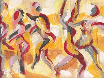 Sun dancers sur Eva van den Hamsvoort