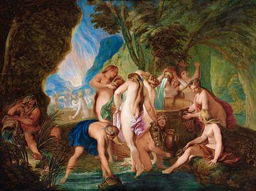 Die Danaïden in der Hölle, Nicolas Bertin