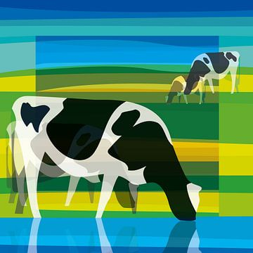 Kühe (stilistisch) von Color Square