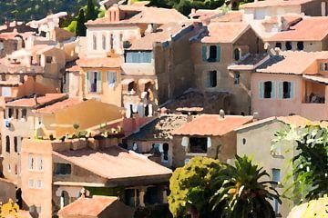Französisches Dorf von E Jansen