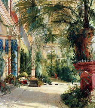 Carl Blechen. Het palmhuis