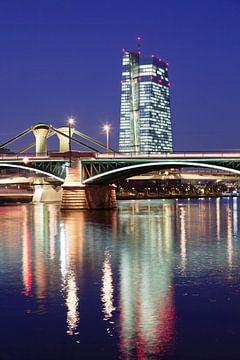 Europäischen Zentralbank, Frankfurt, Hessen, Deutschland von Markus Lange