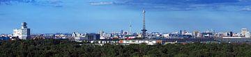 Panorama de la ligne d'horizon de Berlin sur Frank Herrmann