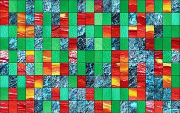 Dekoration grün rot blau von Martin  Uda