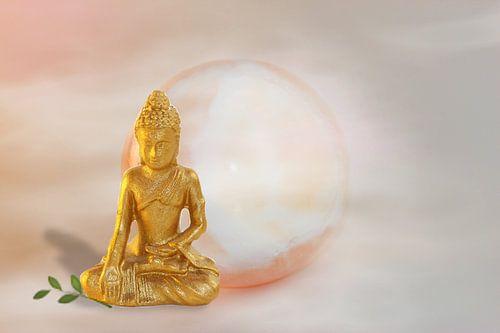 Golden Buddha von Rosi Lorz