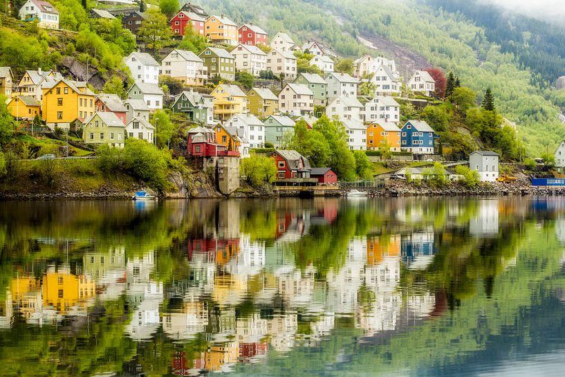 Norway Village van Tom Opdebeeck